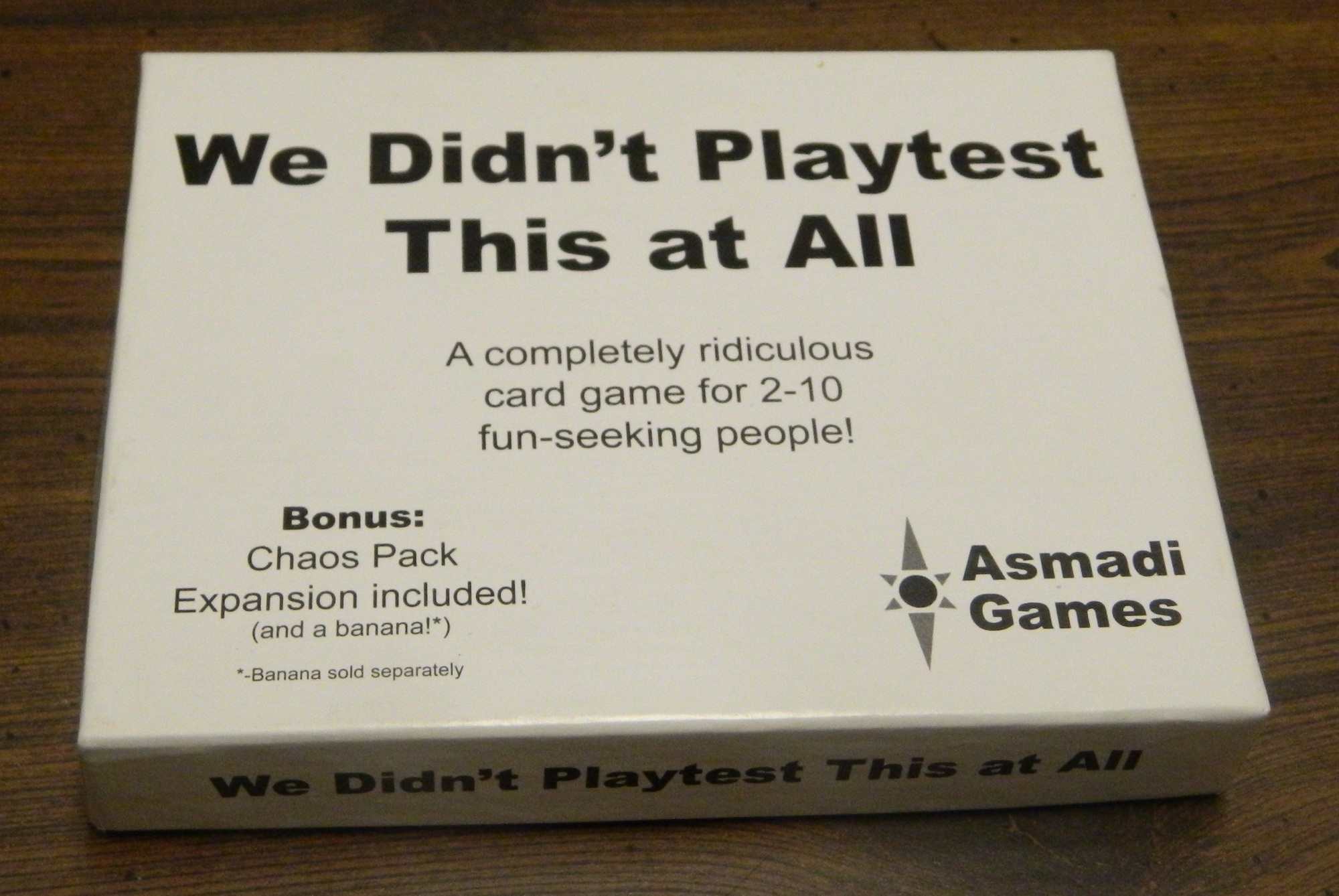 Box for We Didn't Playtest This At All