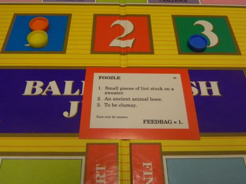 Answer in Balderdash Junior