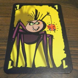 Spider Card in Cheating Moth