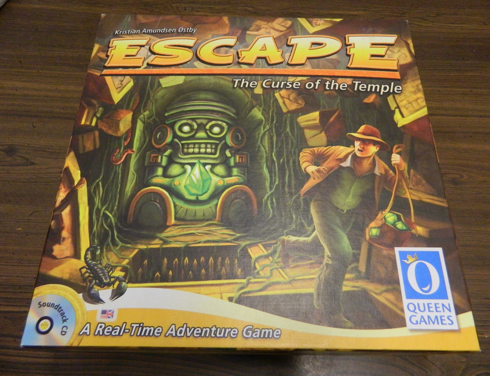 Box for Escape The Curse of the Temple