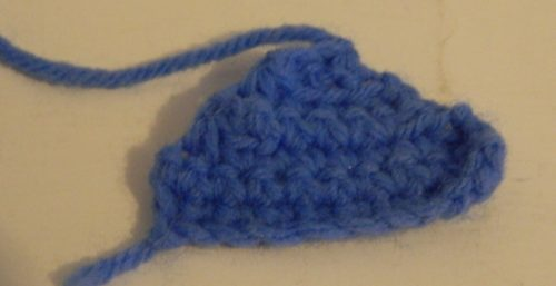Crocheted Hat Brim for Ness