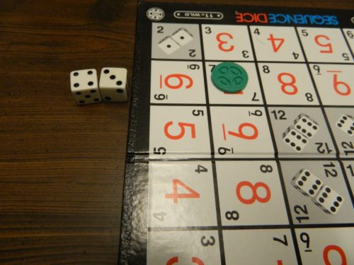 Normal Roll in Sequence Dice