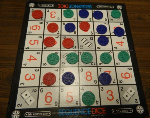 Winning Sequence Dice