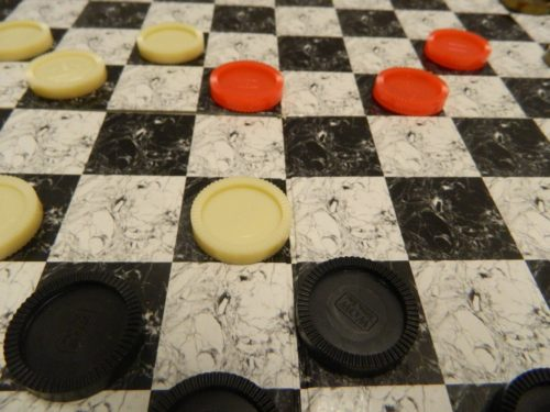 Jumping Pieces in Checkers4