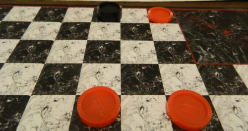 Making a King in Checkers4