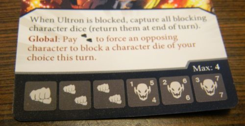 Global Ability in Dice Masters Age of Ultron