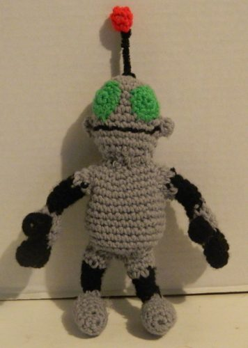 Crocheted Clank Amigurumi