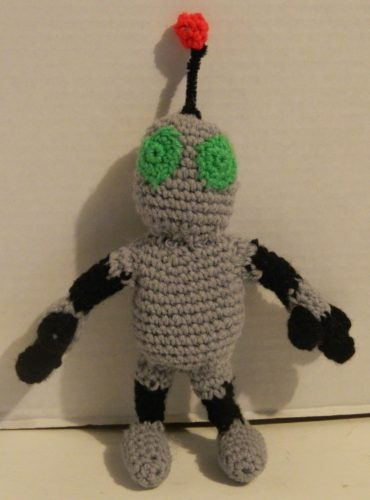 Clank Amigurumi Assembly