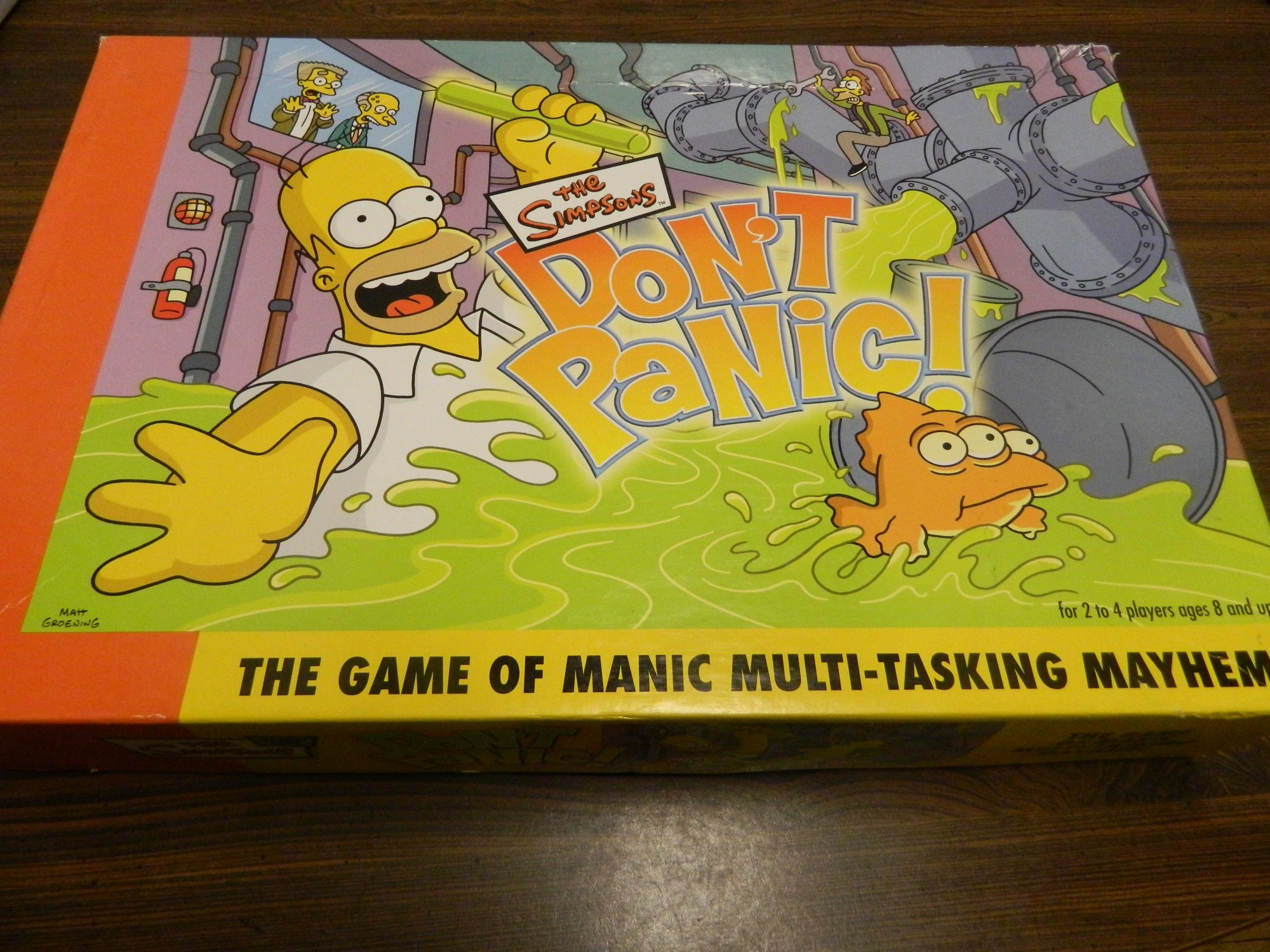 Box for Simpsons Don't Panic