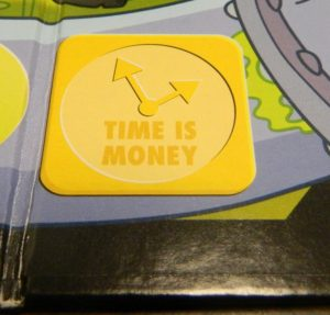 Time Is Money in Simpsons Don't Panic