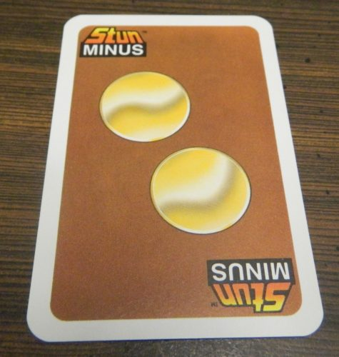 Stun Minus Card from Stun