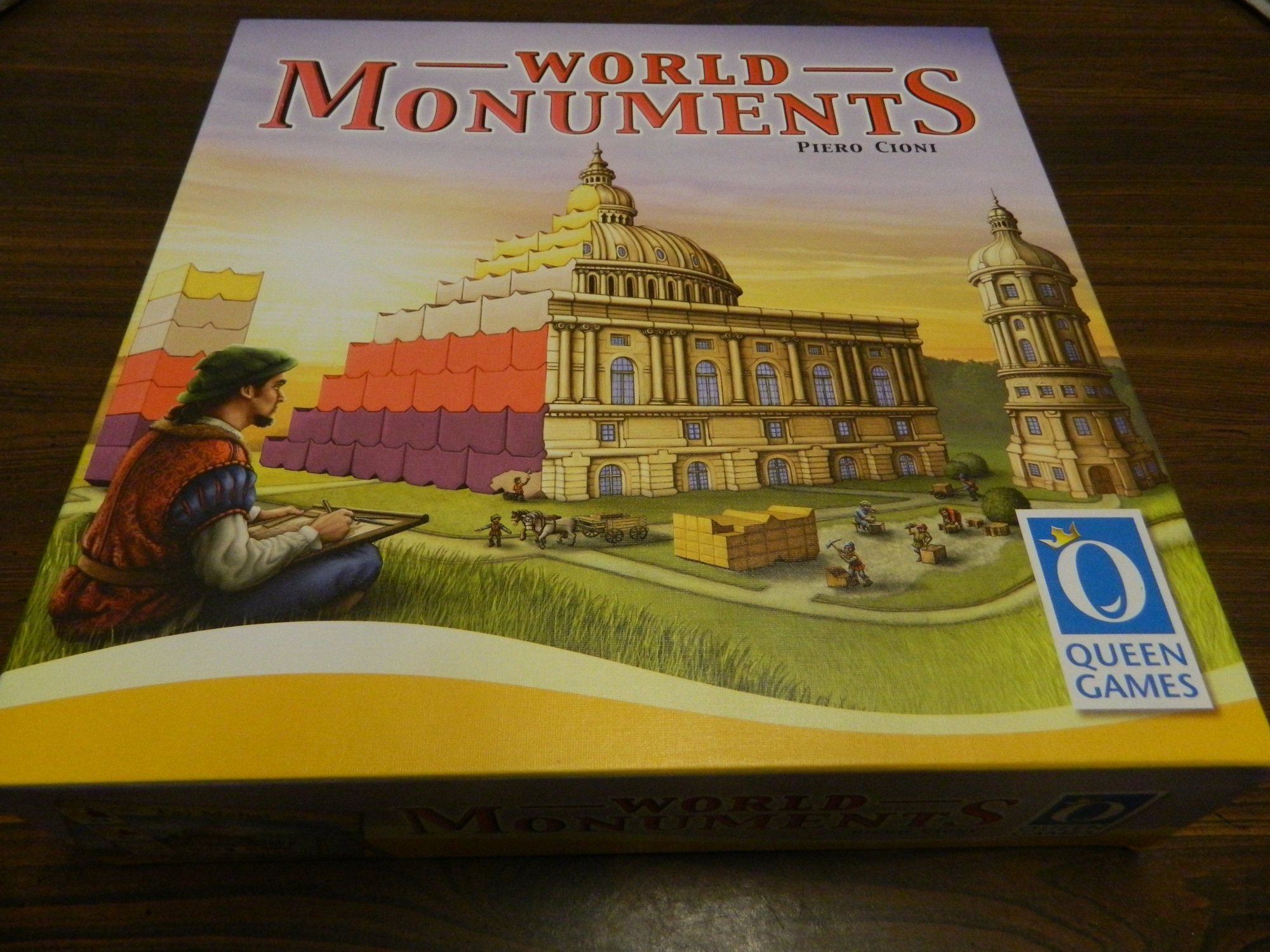 Box for World Monuments