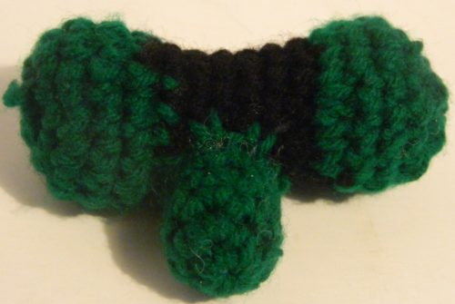 Crochet Bazooka for Worms Amigurumi