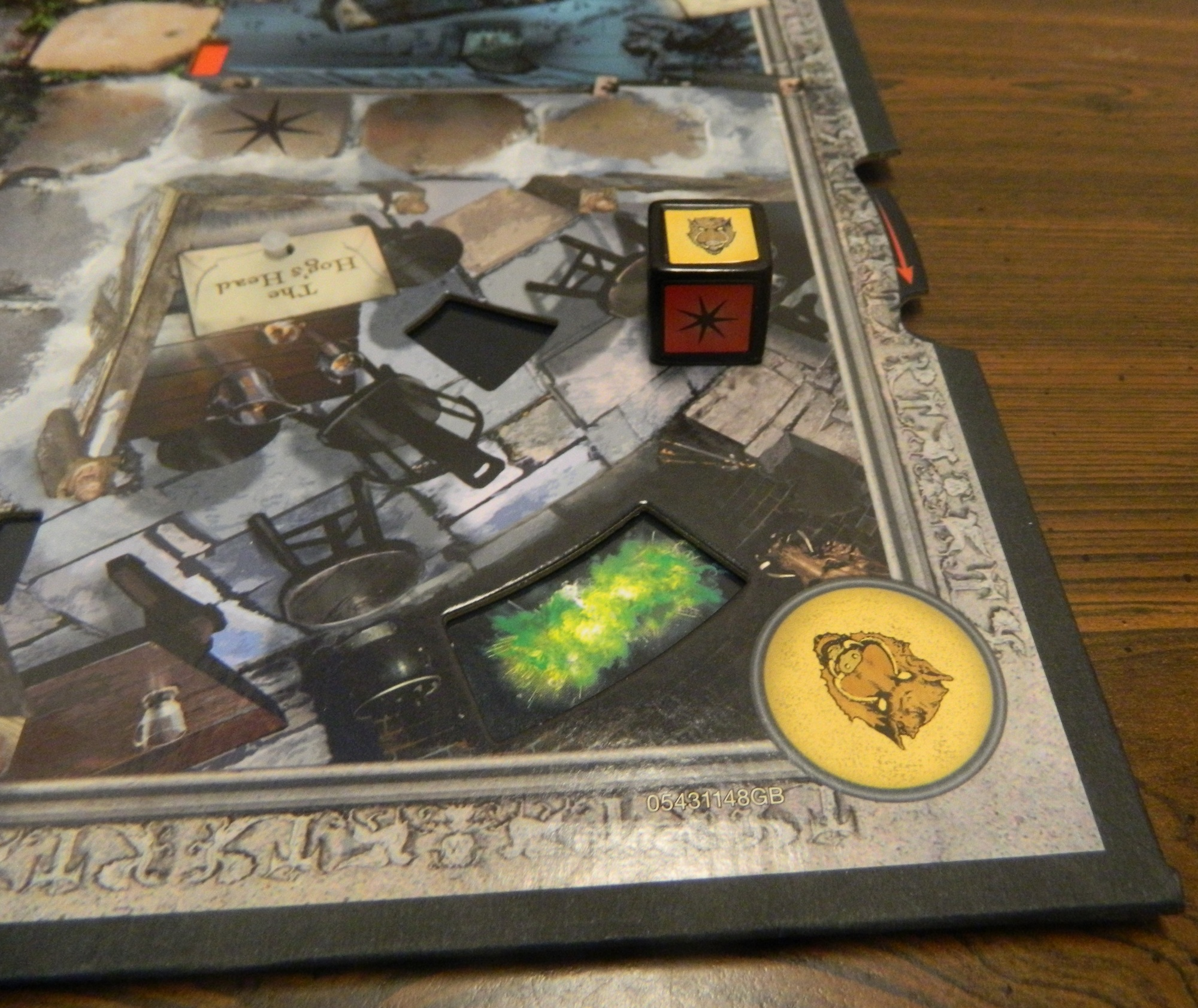 Clue World Of Harry Potter Board Game Review And Rules Geeky Hobbies