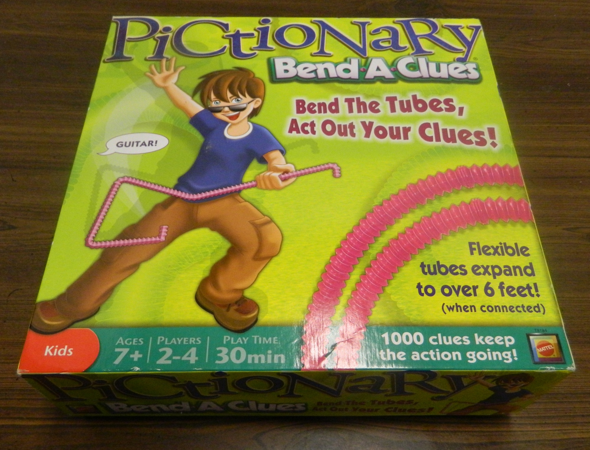 Box for Pictionary Bend-A-Clues