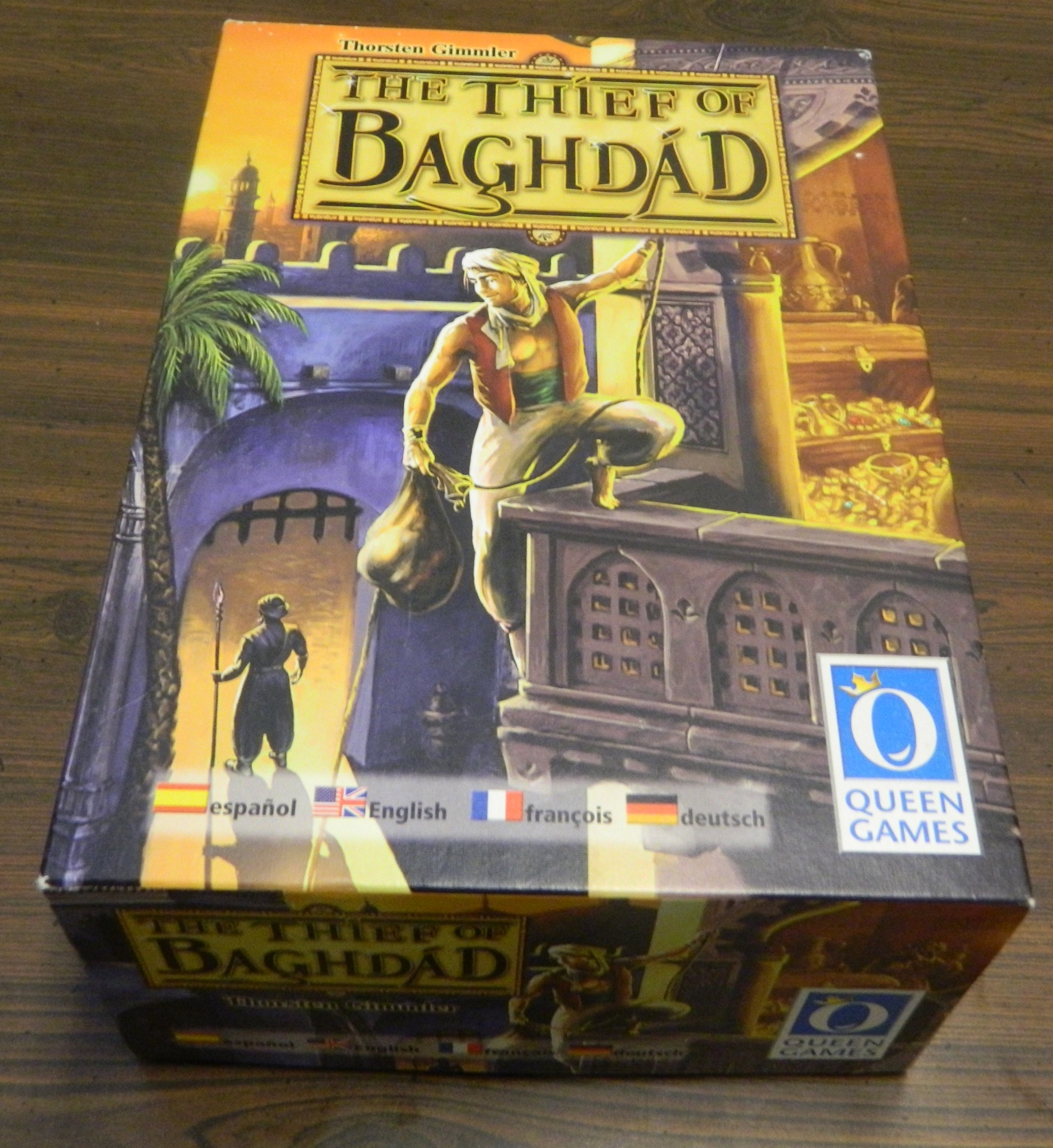 Box for Thief of Baghdad