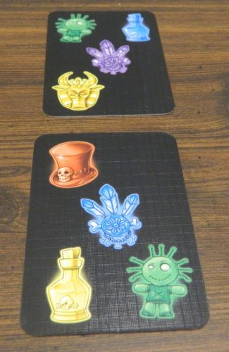 Playing a Card in Voodoo Mania