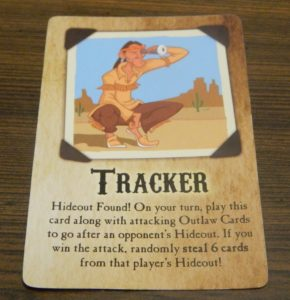 Tracker Card in Bandits