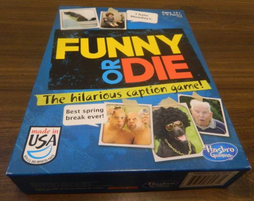 Box for Funny or Die