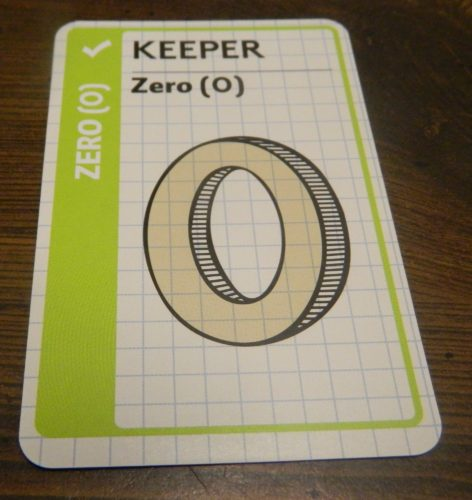 Keeper Card in Math Fluxx