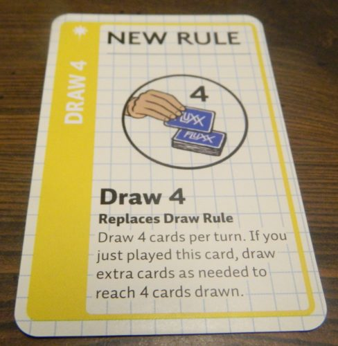 Rule Card in Math Fluxx