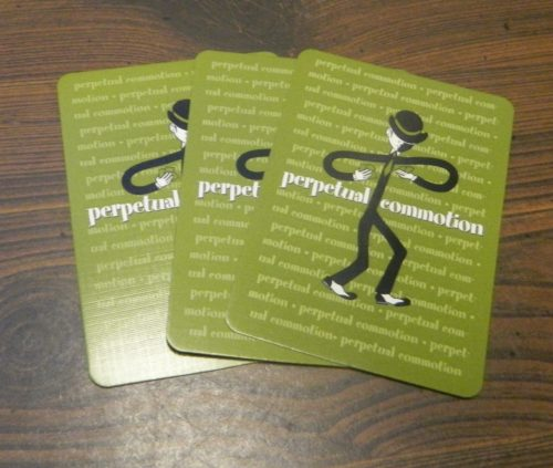 Feeder Cards in Perpetual Commotion