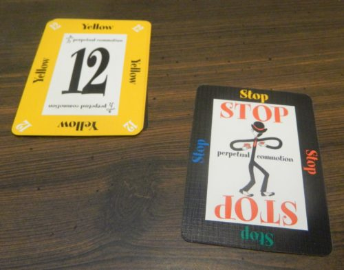Stop Card in Perpetual Commotion
