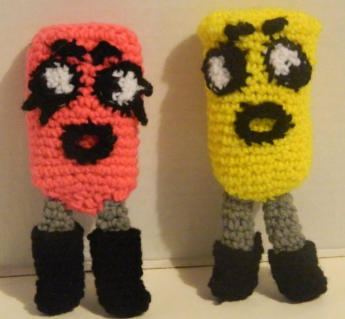Crochet Snipperclips Assembly