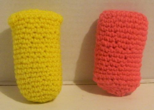Crocheted Body in Snipperclips