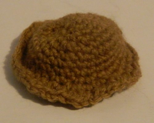 Crochet Hat for Spelunky