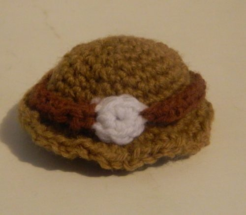 Crochet Hat for Spelunky Amigurumi