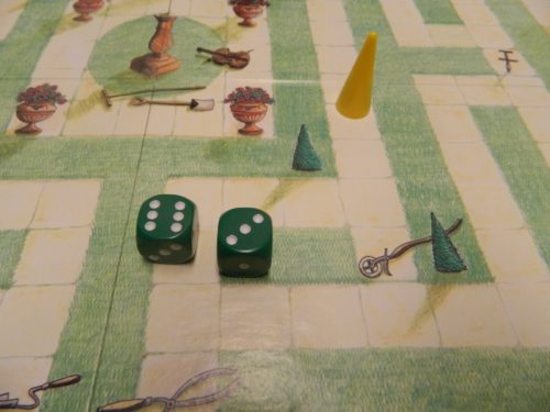 Gaden Implements in The Game of Maze