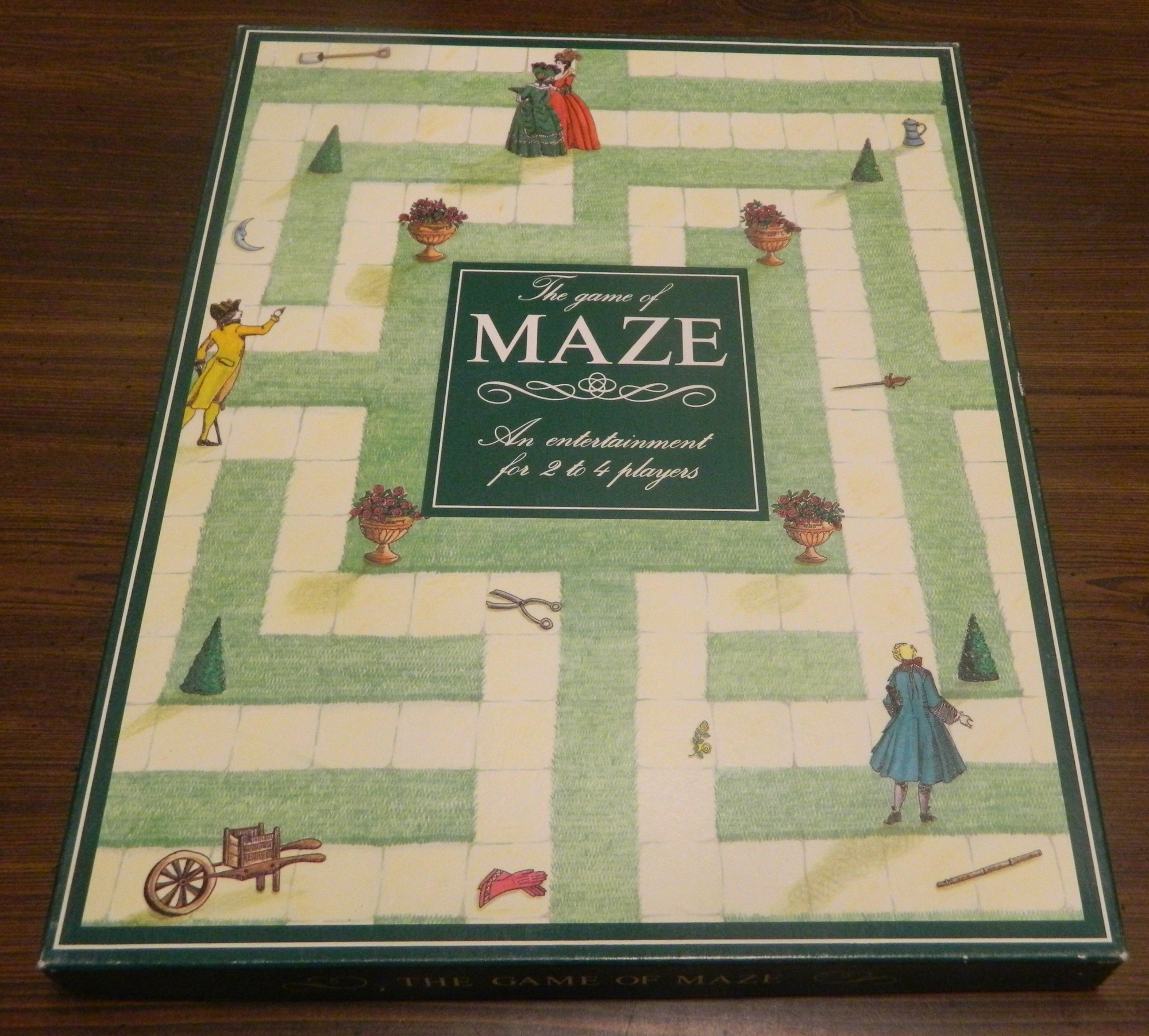Box for The Game of maze