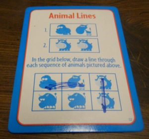 Animal Lines in Big Brain Academy Board Game