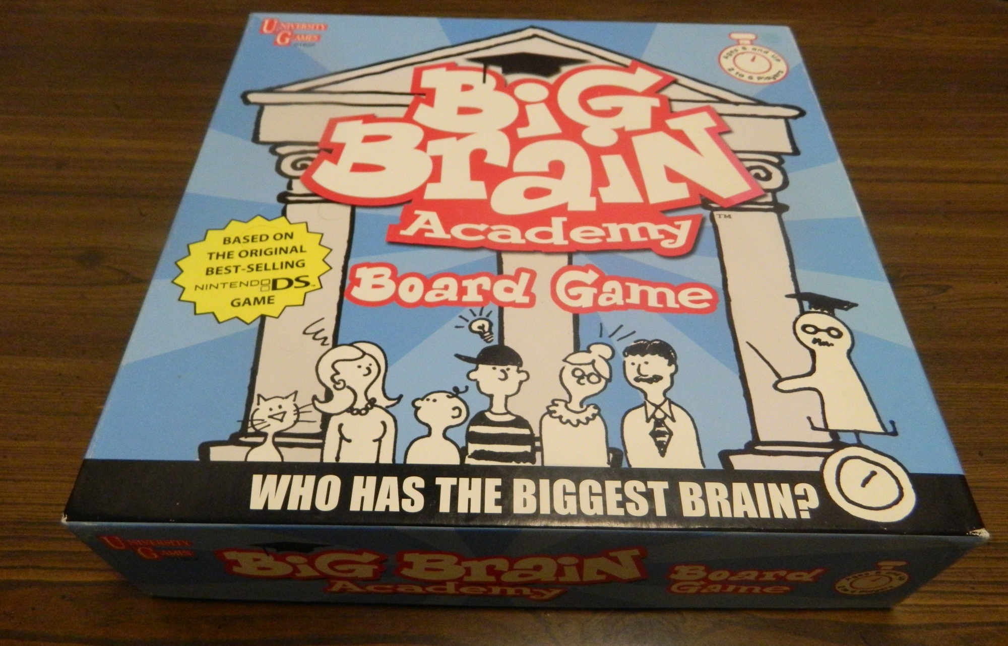 Box for Big Brain Academy