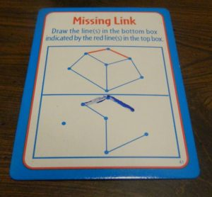 Missing Link Card from Big Brain Academy Board Game