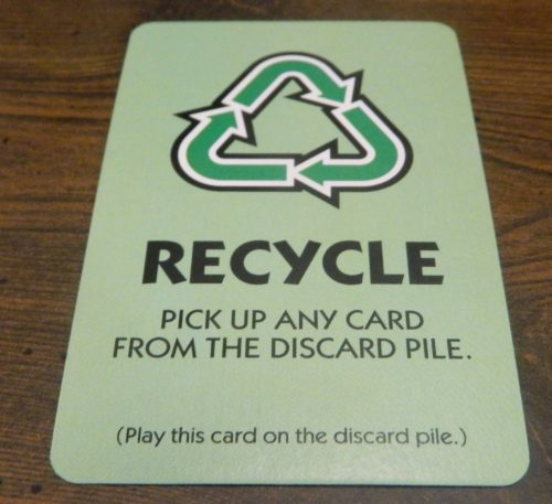 Recycle Card in Monopoly Hotels