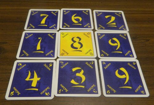Playing Cards in the Sudoku Card Game