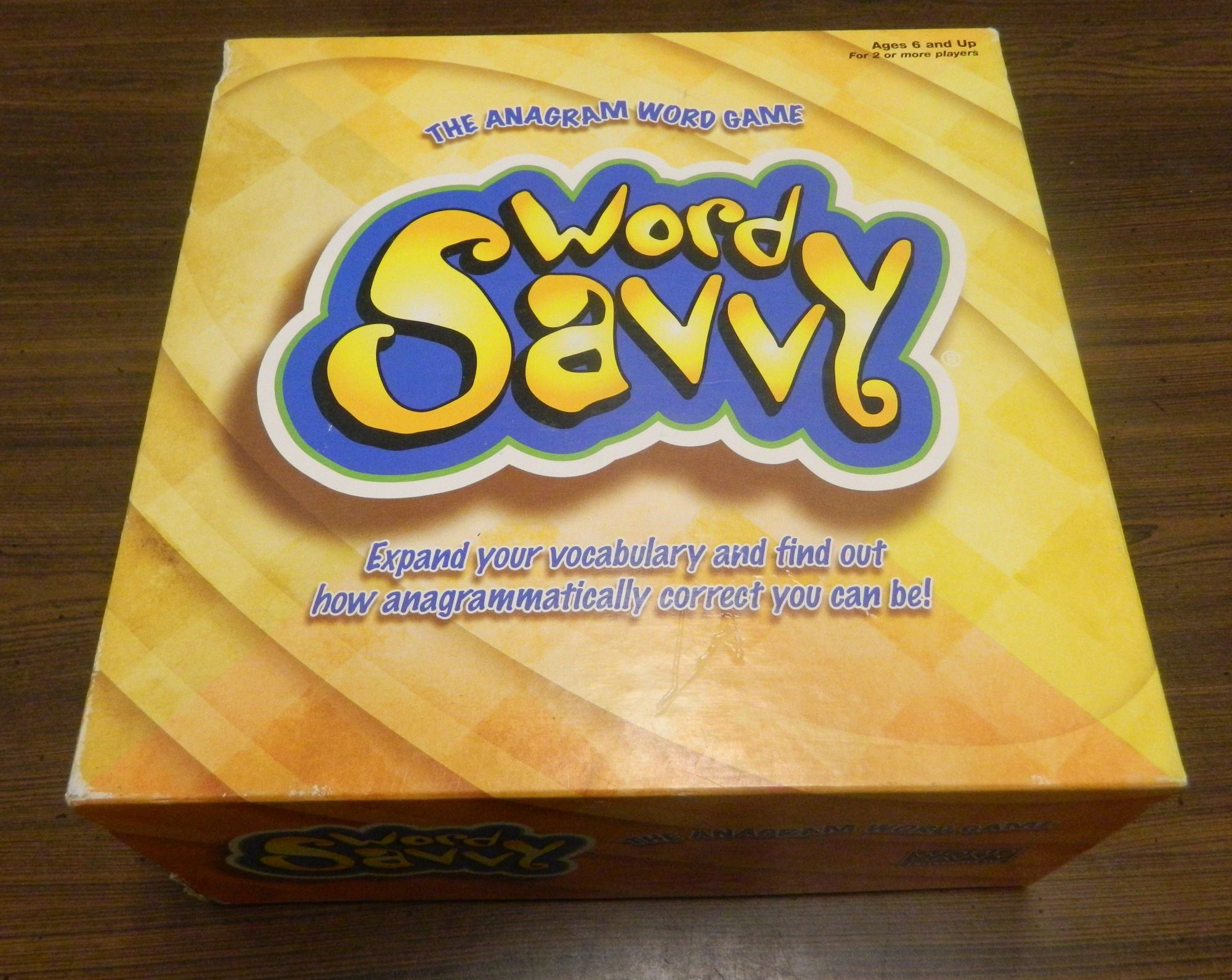 Box for Word Savvy