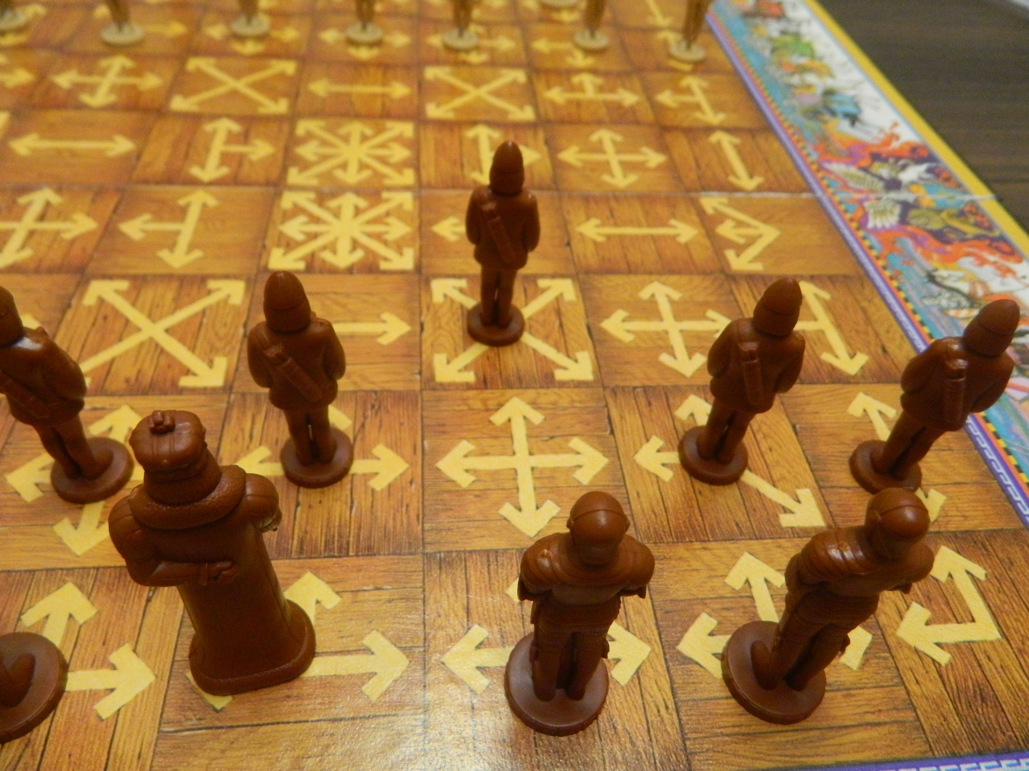 All The King's Men (AKA Smess: The Ninny's Chess) Board Game