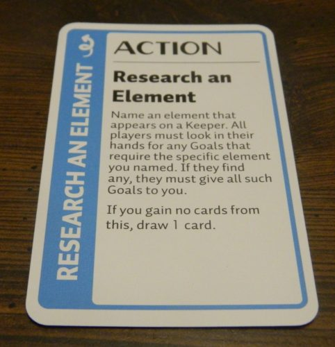 Action Cards in Chemistry Fluxx