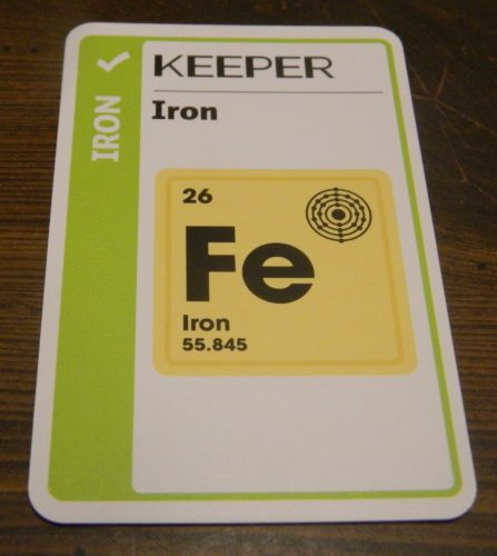 Keeper Card in Chemistry Fluxx