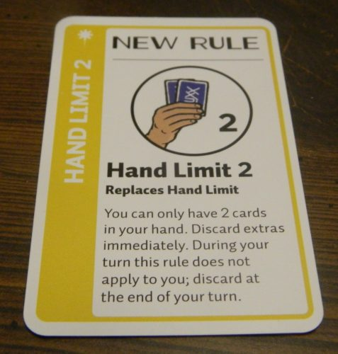 New Rule Card in Chemistry Fluxx