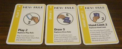 Set of Rule Cards in Chemistry Fluxx