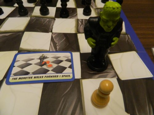 Frankencheck Capturing Piece in Chess on the Loose