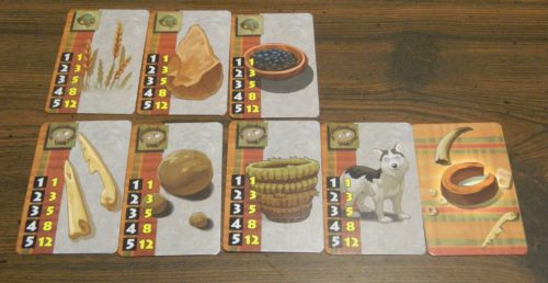 Points from Aspect Cards in Hoyuk