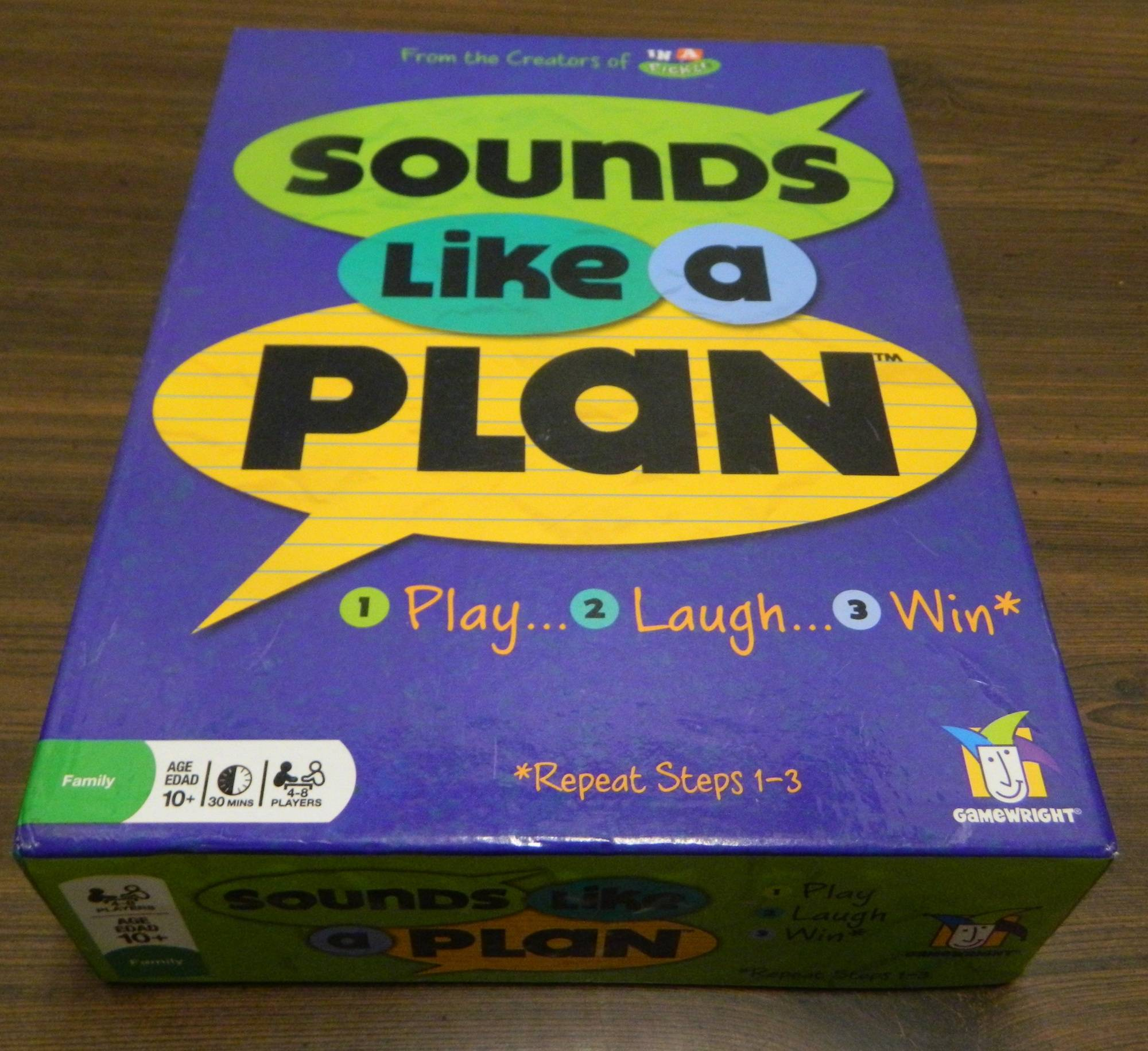 Box for Sound Like A Plan