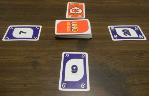 Playing a Non-Matching Card in UNO Hearts