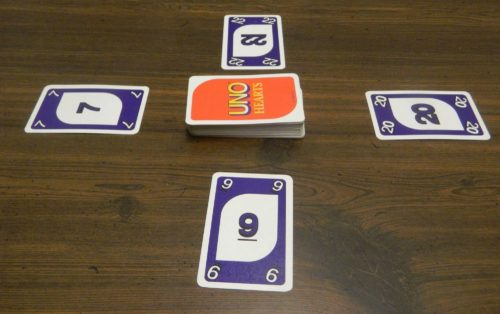 Playing Cards in UNO Hearts