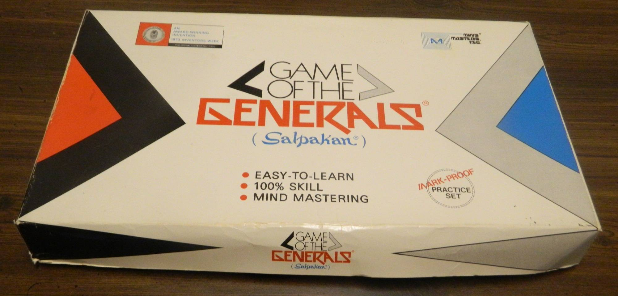Box for Game of the Generals